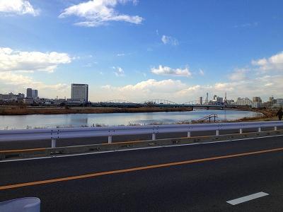 澄み切った大晦日でした☆ 自転車で「リンリンリ~ン♪」愛する多摩川から、我が川崎を眺める☆